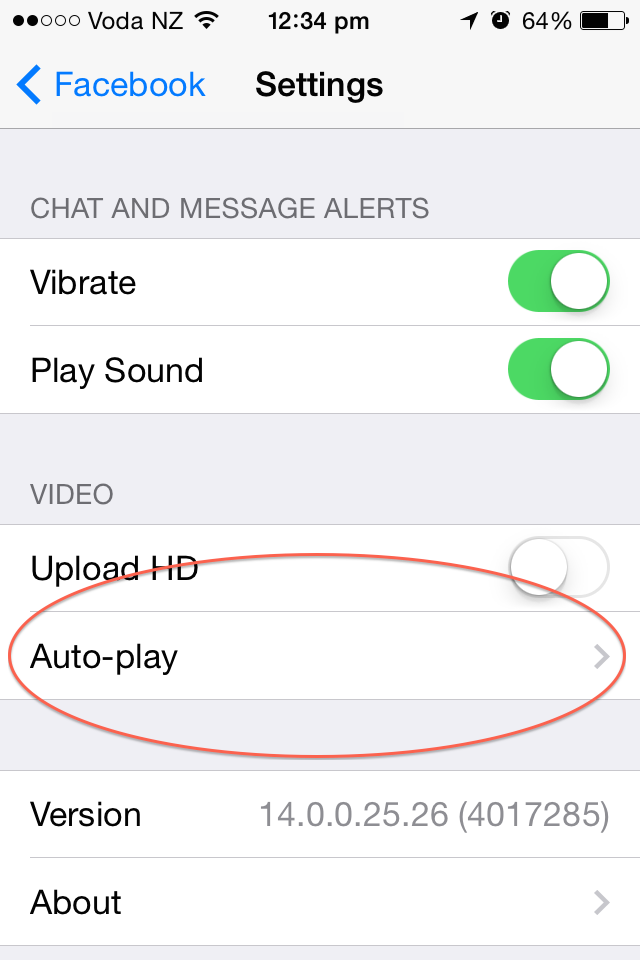 Facebook-video-autoplay-iphone-settings