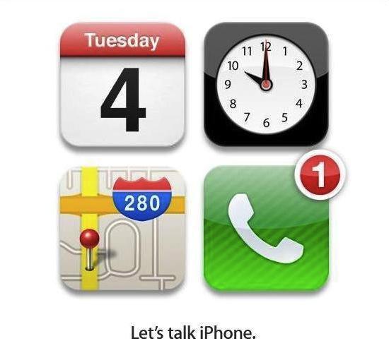 Let's Talk iPhone Invite