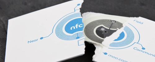 moo nfc enabled business cards making networking marketing easier - Nfc Business Cards